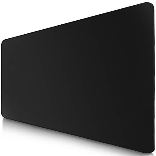 Sidorenko : Tapis de souris gaming XL de 900 x 400 mm, base en caoutchouc antidérapant surface noire Nomai