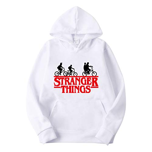 Sweat à capuche Stranger Things doublure en velours