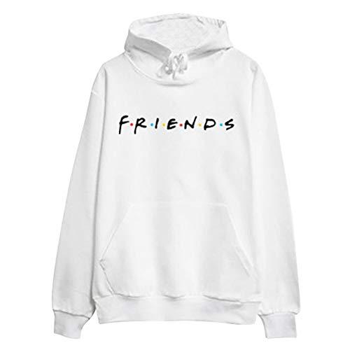 Sweat à capuche Friends plusieurs coloris