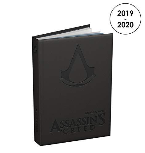 ASSASSIN'S CREED 100738096 Agenda Journalier 2019 - 2020 de Août à Août 1 Jour par Page Format 12 x 17cm Couverture Rigide Noire