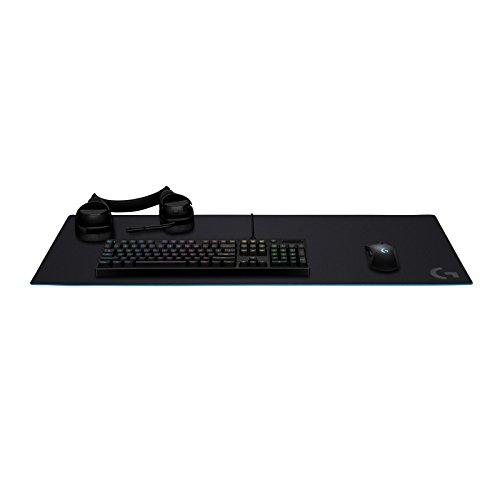 Logitech G840 noir en caoutchouc de 400 mm, 900 mm, 3 mm