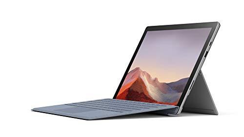 Microsoft Surface Pro 7 Ordinateur Portable (Windows 10, écran tactile 12.3', Intel Core i7, 16 Go RAM, 512 Go SSD, Platine) PC Hybride polyvalent & performant