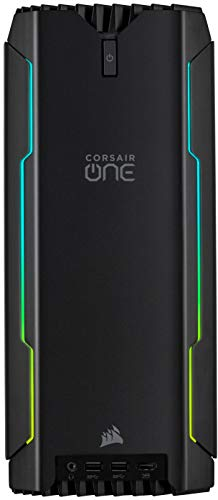 Corsair ONE a100 PC gaming compact - Processeur AMD Ryzen 9 3950X - Carte graphique NVIDIA GeForce RTX 2080 Ti - Mémoire DDR4 32 Go CORSAIR VENGEANCE LPX
