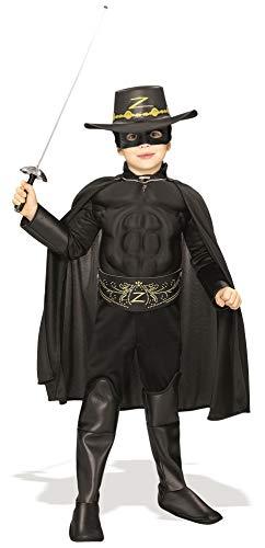 Déguisement cosplay Zorro en 3D pour enfants