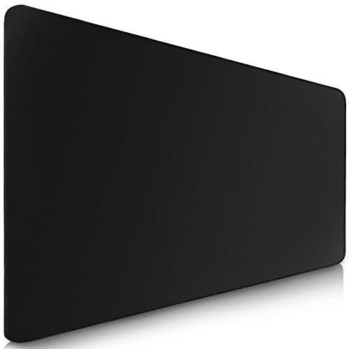 Sidorenko : Tapis de souris gaming XL de 900 x 400 mm, base en caoutchouc antidérapant surface noire