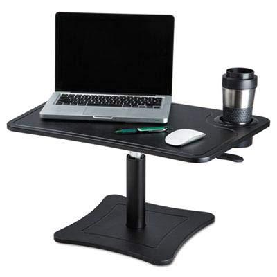 Victor Dc240b High Rise Hauteur réglable pour ordinateur portable avec support de stockage de tasse (Noir) Nomai