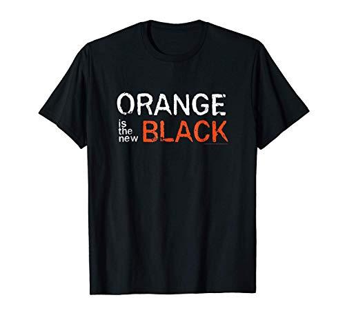 Fluse Orange is The New Black T-Shirt Unisexe d'humour 100% Coton pour Sports de Plein air
