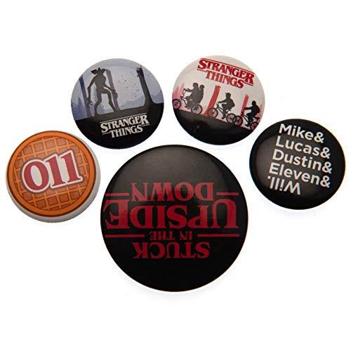 Pack de badges Stranger Things