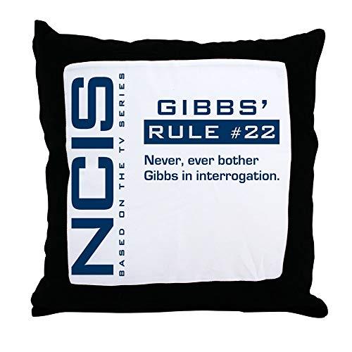 Coussin règles de Gibbs série NCIS