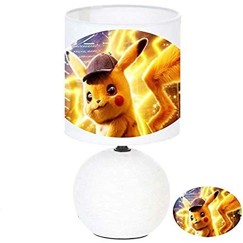 Lampe de chevet artisanale Pokémon personnage Détective Pikachu