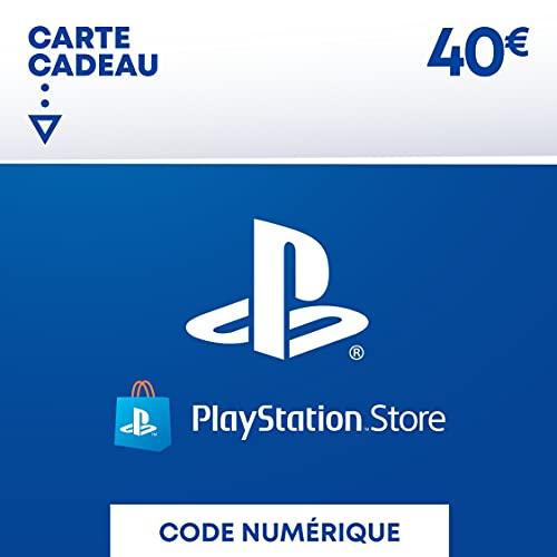 Sony PlayStation Store, Fonds pour porte-monnaie virtuel, Valeur 40 EUR, Code à télécharger, Compte français Nomai