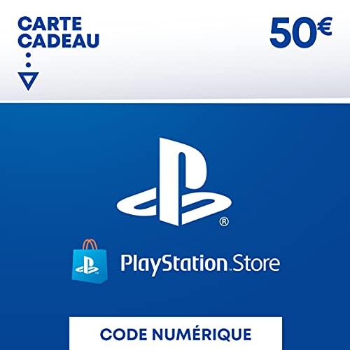 Sony PlayStation Store, Fonds pour porte-monnaie virtuel, Valeur 50 EUR, Code à télécharger, Compte français Nomai