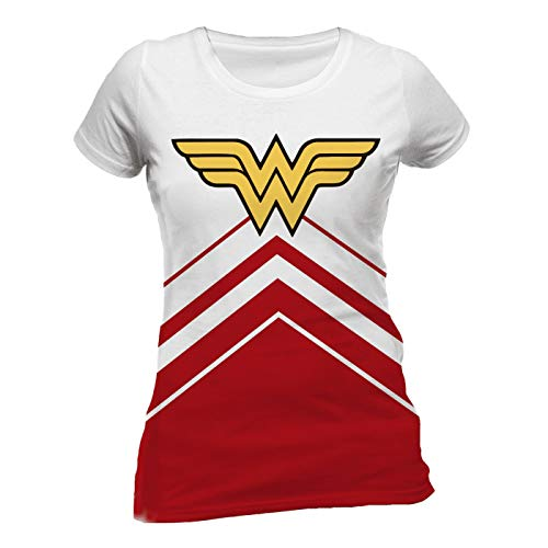 Wonder Woman Cheers Leader Logo T- T-Shirt Femme