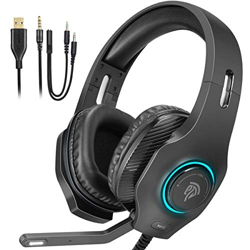 Casque Gamer RGB LED