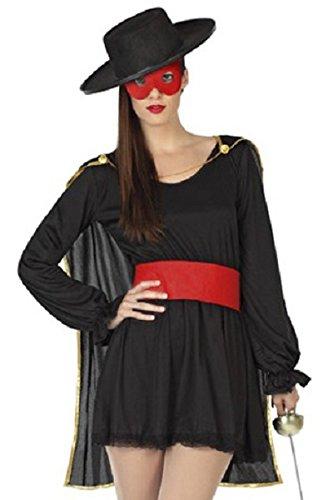 Cosplay costume masqué pour femmes Zorro