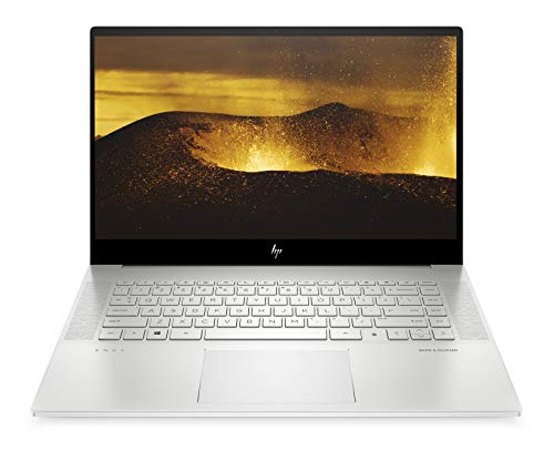 HP ENVY 15-ep0061nf PC Portable 15,6' 4K AMOLED UHD IPS Argent (Intel Core i7, RAM 16 Go, SSD 1 To, NVIDIA GeForce RTX 2060, AZERTY, Windows 10)
