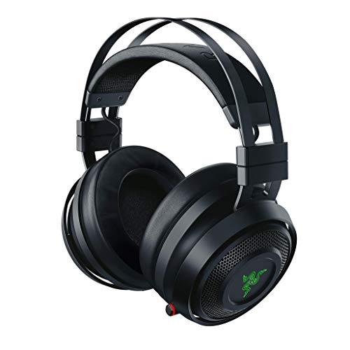 Razer Nari - Casque d'Écoute de Jeu avec ou sans Fil avec Audio Thx Spatial, Coussin de Gel Rafraîchissant, Audio et Microphone sans Fil 2,4 Ghz