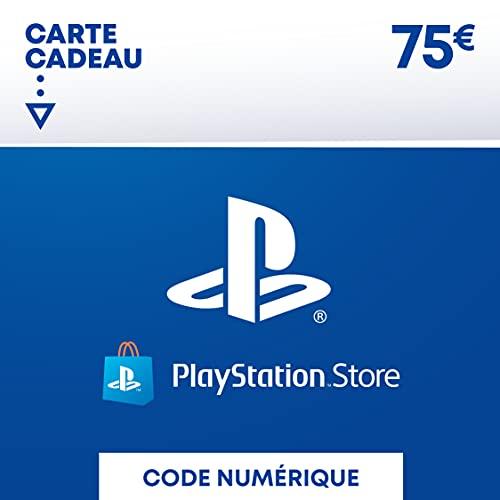 Carte PSN 75 EUR | Compte français | Code de téléchargement (PS5/PS4/PS3) Nomai
