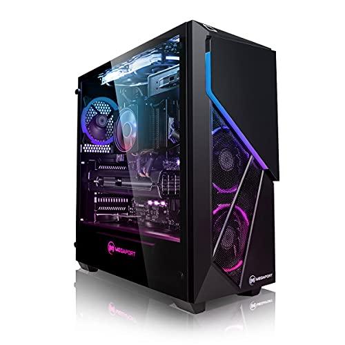 Megaport PC Gamer Goblin AMD Ryzen 5 5600X 6X 3,70 GHz • GeForce RTX3060Ti 8Go • Windows 10 • 16Go DDR4 • 500Go M.2 SSD • 2To • WiFi • USB3.0 Unité Centrale Ordinateur de Bureau Nomai