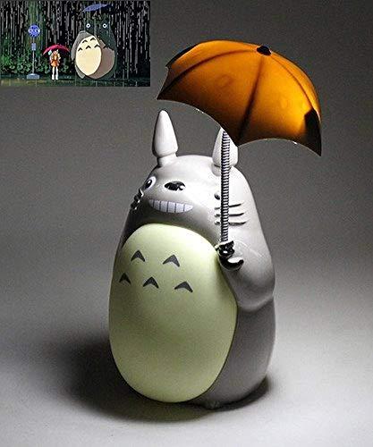 LPOIK Totoro Anime Veilleuse LED [Vert Belly], Personnage du Po2015-s256Kid Lampe USB Charge, Desk Table de Nuit Lampe de Lecture
