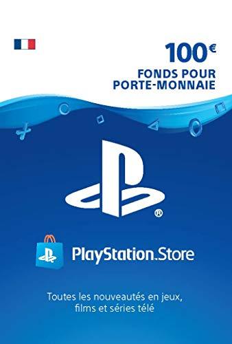 Carte PSN 100 EUR   Compte français   Code de téléchargement (PS5/PS4/PS3)