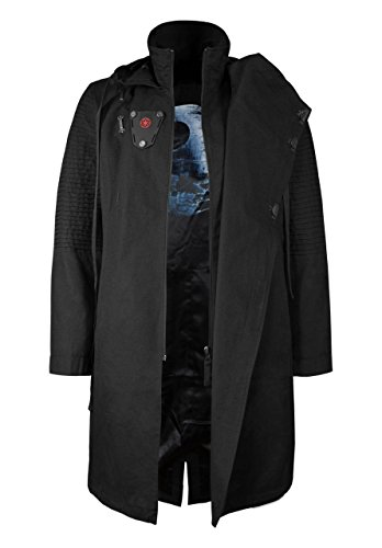 Musterbrand Star Wars Manteau Homme Sith Lord Limited Edition Veste Noir