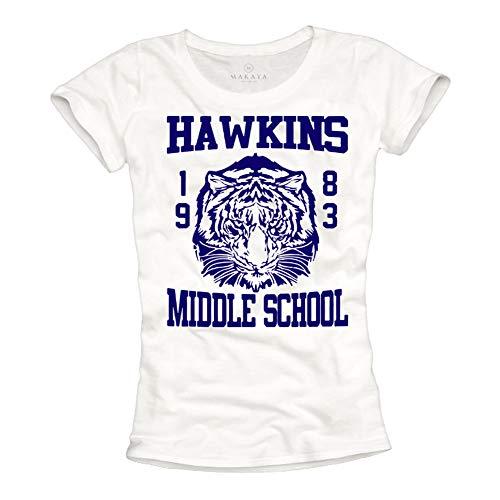 T-shirt Stranger Things femme Hawkins