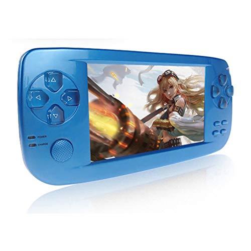Consoles de Jeux Portables, 3000 Jeux Rétro Jeu Vidéo Portable 4,3 Pouces 16 Go Consoles avec Caméra (Bleu) gameover.fr