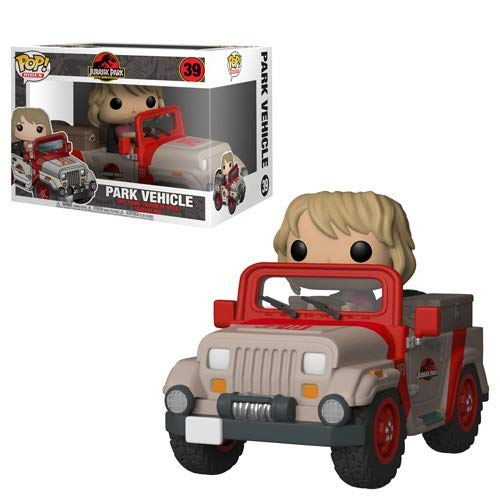 Figurine Funko Pop Jurassic Park Jeep