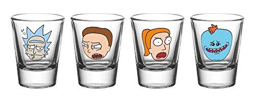 Lot de verres à shot Rick & Morty