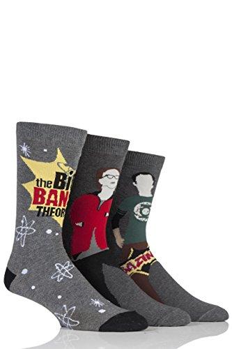 Lot de 3 paires de chaussettes The Big Bang Theory