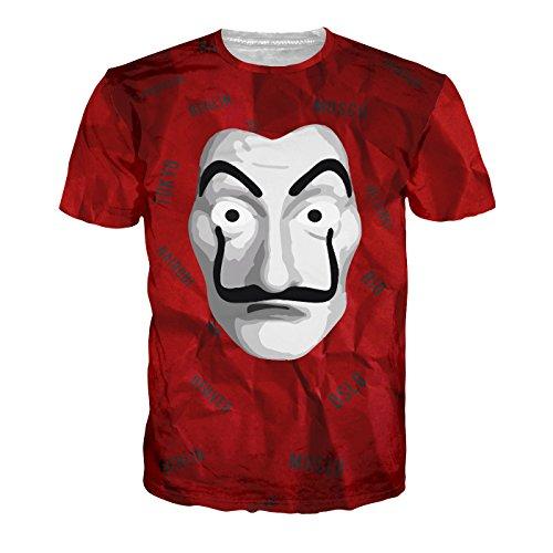 Shonentee Shirt Homme - La CASA de Papel