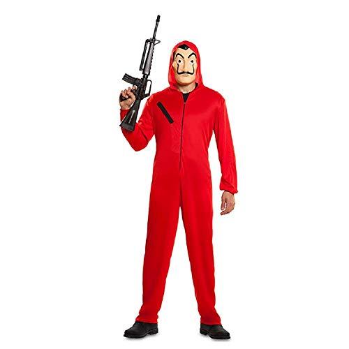 La CASA De Papel Costume Costume De Halloween Réaliste Costume De Halloween Costume Combinaison De Costume Rouge