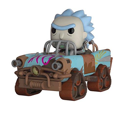 Funko- Rick & Morty-Mad Max Rick Figurine, 28456, Multicolore