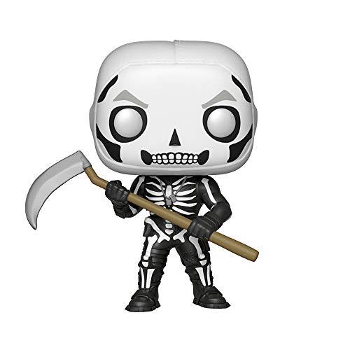 Funko- Figurines Pop Vinyl: Fortnite: Skull Trooper, 34470, Multicolore