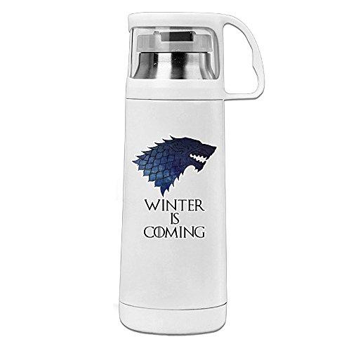 Mensuk Game Of Thrones Best Drama Series Stainless Steel Mug / 350mL Coffee Thermos & Vacuum Flask Water Bottle