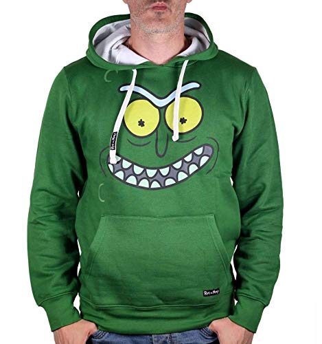 Sweat à capuche Rick & Morty avec poche ventrale