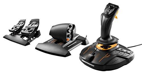 Thrustmaster T-16000M FCS FLIGHT PACK joystick, manette des gaz et palonnier joystick, manette des gaz et palonnier compatible PC gameover.fr