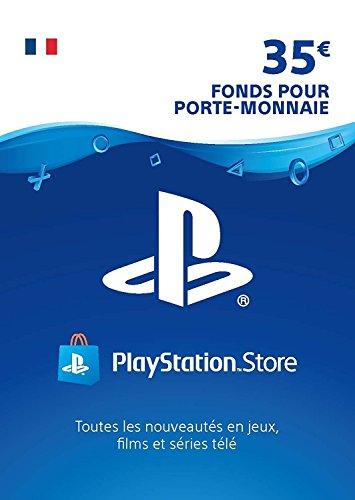 Carte PSN 35 EUR | Compte français | Code de téléchargement (PS5/PS4/PS3)