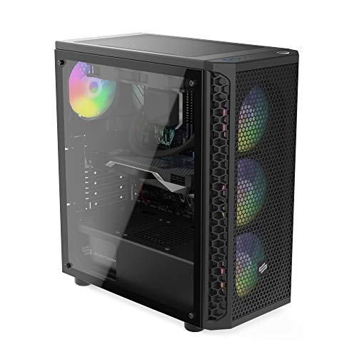 Sedatech PC Pro Gamer Intel i7-9700KF 8X 3.6Ghz, Geforce RTX 2080Ti 11Go, 32Go RAM DDR4, 1To SSD NVMe M.2 PCIe, 2To HDD, USB 3.1, WiFi. Unité Centrale, Win 10