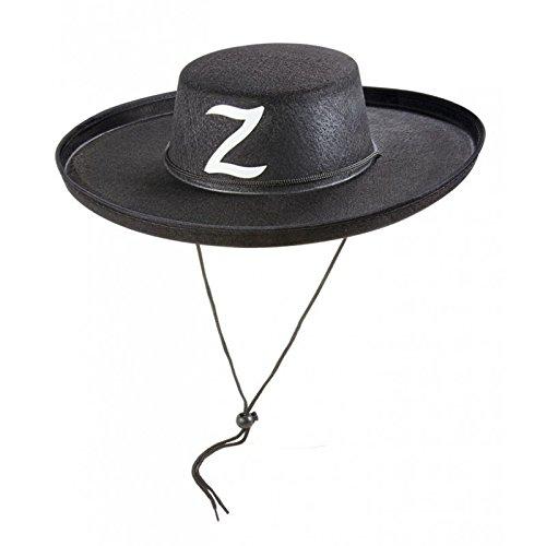 Chapeau de bandit Zorro adulte