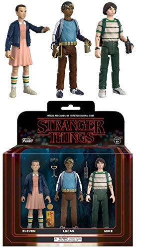 Funko Stranger Things Eleven Lucasassort.Fig Eleven Lucas Mike