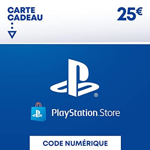 Carte PSN 25 EUR | Compte français | Code de téléchargement (PS5/PS4/PS3) Nomai