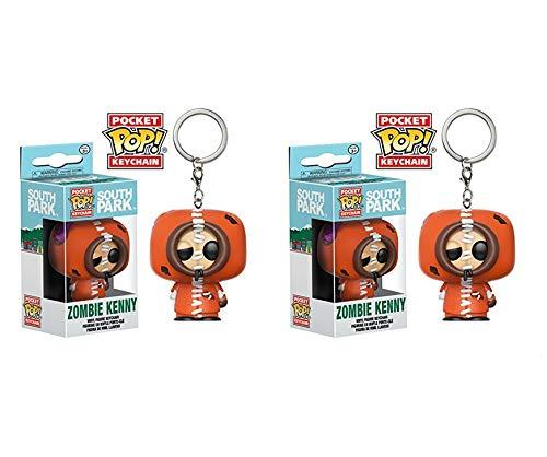 Pack de 2 porte-clefs Funko Pop South Park