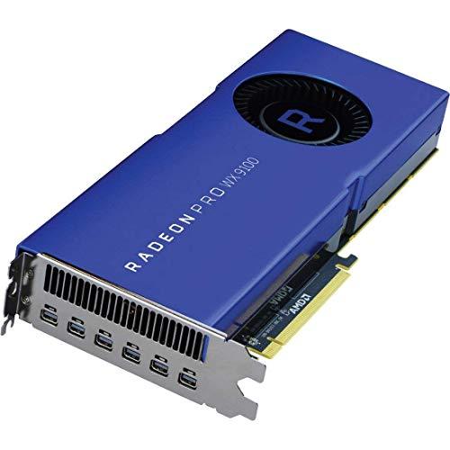 AMD Radeon Pro WX 9100 16GB HBM2 bleue