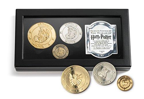 Pièces de monnaie des Gobelins Harry Potter