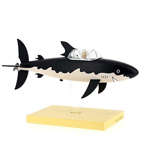 Figurine de collection Moulinsart Tintin et Milou Le Sous-marin Requin (2018)