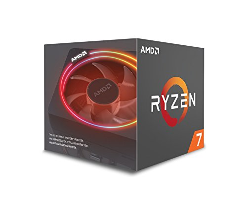 Processeur RYZEN7 2700x Socket AM4 4.35Ghz+20MB Noir