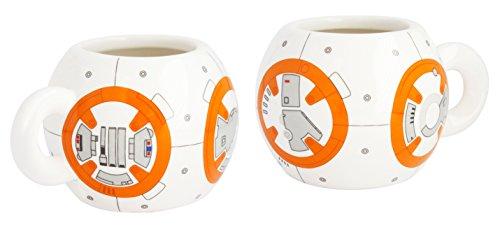 STAR WARS 21827–BB Kit de 8: 2Tasses à Expresso en céramique dans Emballage Cadeau, 8x 8x 10cm
