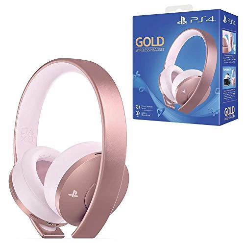 PlayStation Casque-micro sans fil PS4, Audio 3D, Édition Gold, Noir